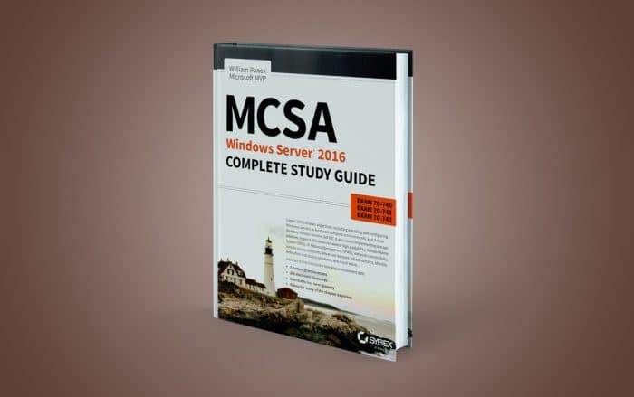 کتاب MCSA Windows Server 2016 Study Guide